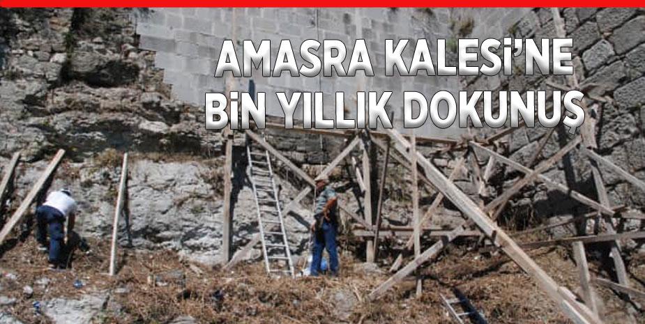 Bizans'tan günümüze ulaşan tarihi kale onarılıyor