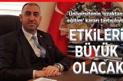 Bartın Bakkallar Odası Başkanı Barış Özkan: Şehir ekonomisi alt üst edecek karar