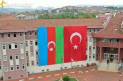 Bartın, Azerbaycan Bayrakları ile donatıldı
