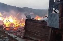 Ulus'ta büyük yangın; tüpler dinamit gibi patladı