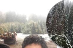 Bartın'da mevsimin ilk karı Kumluca yaylalarına düştü