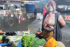 Galla Pazarı'nda Ali Babacan'a çıkıştı: Yüzüne söylüyorum!