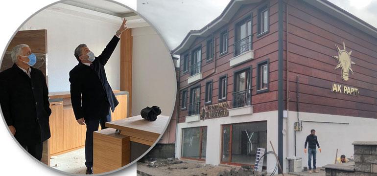 AK Parti 18 yıl sonra yeni binasına taşınıyor; işte özellikleri