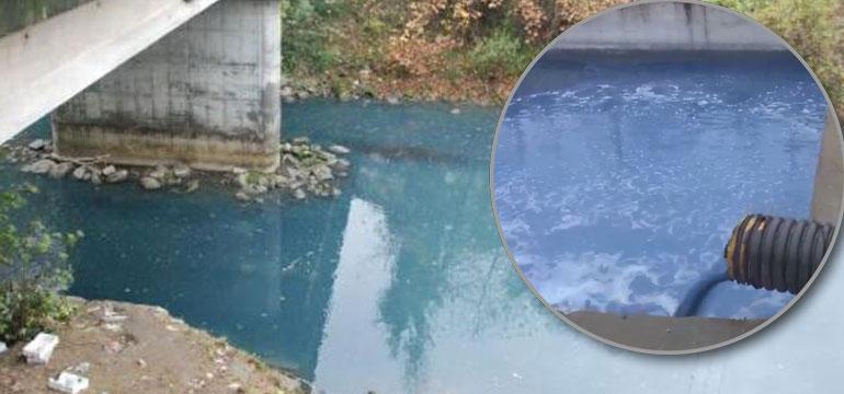 Rimaks kendini savundu: Irmağı biz boyadık ama…