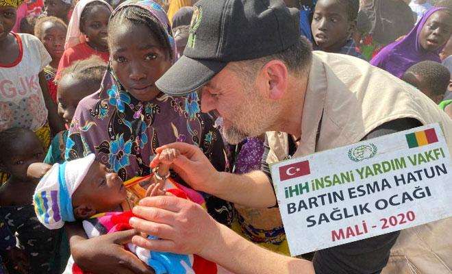 Bartın'dan Afrika ülkesi Mali'ye gönül köprüsü