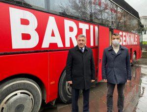 AK Parti seçim otobüsünü tanıttı! İşte fiyatı ve modeli
