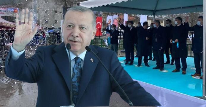 Bartın'daki 5 yatırımın açılışını Cumhurbaşkanı Erdoğan yaptı