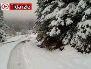 Bartın'da mart karı etkili oluyor! Ulus ve Kumluca'da son durum