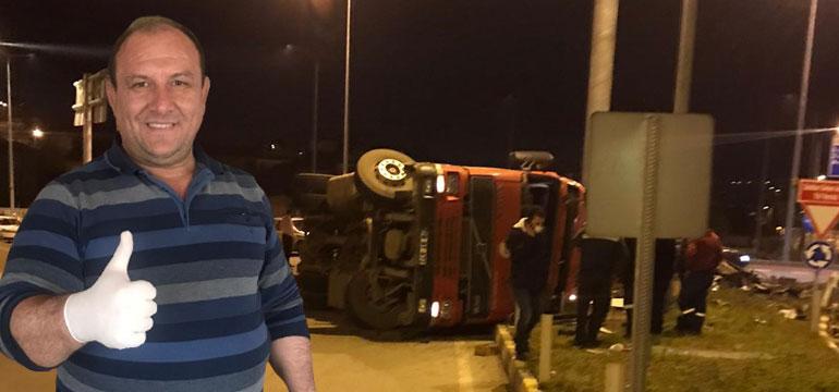 Bartın'da feci kaza! SP'nin Abdipaşa Belde Başkanı'nın kolu koptu