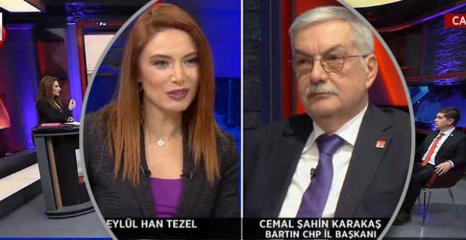 CHP Bartın İl Başkanı KJ kurbanı! Yayın boyu adını…