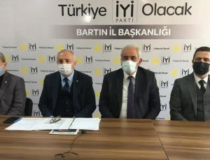 İYİ Parti Bartın örgütü milletvekili ağırladı