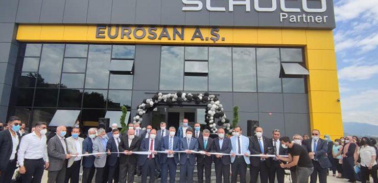 Eurosan Bartın törenle üretime başladı! Hedef 5 yıl içinde 5 fabrika