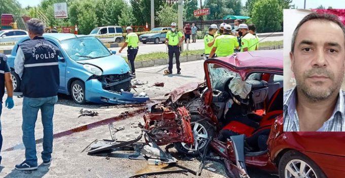 Terminal yolunda feci kaza! Ölüm karşı şeritten geldi