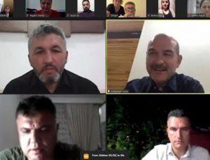 Süleyman Soylu, Bartın teşkilatı ile 1,5 saat görüştü! İki kritik mesaj
