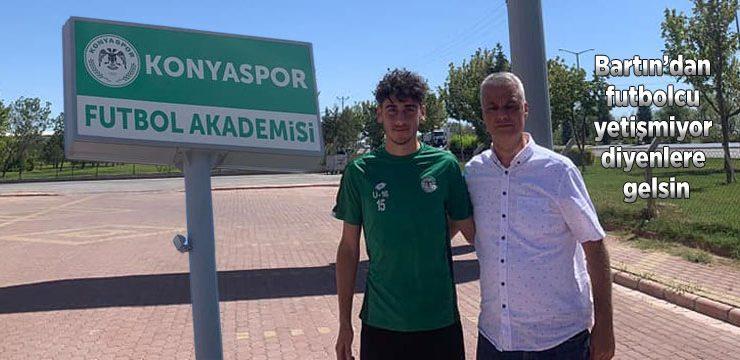 Kumlucalı Samet Konyaspor'a transfer oldu: Yolun açık olsun evlat