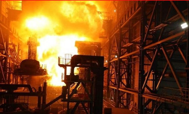Mescier'de patlama! İşte tedavi altına alınan işçiler
